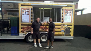 2 Partners at first food truck event Gilbert Fire Places & Grills in Gilbert AZ